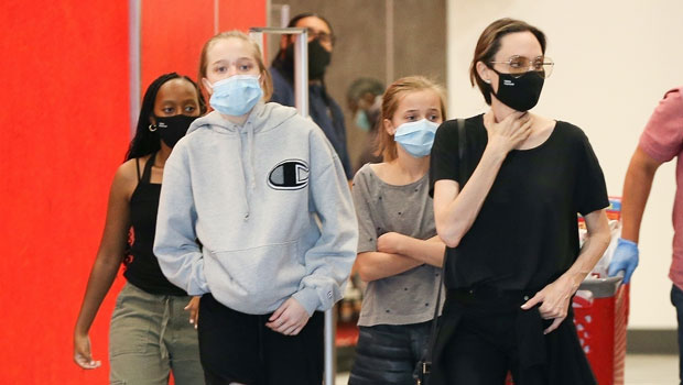 Angelina Jolie Takes Her Kids Shopping 6 Days After Ex Brad Pitt's Virtual Reunion With Jennier Aniston