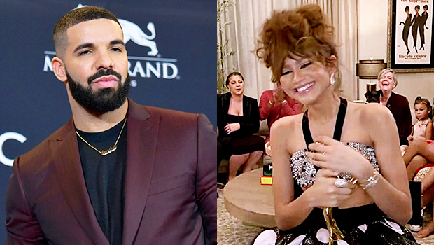 Drake Sends Love To Zendaya After Her Historic Emmys Win For 'Euphoria': 'It Was A Lock'