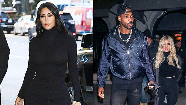 Kim Kardashian Fuels Khloe & Tristan Reconciliation Rumors With New Photo Of AM Workout