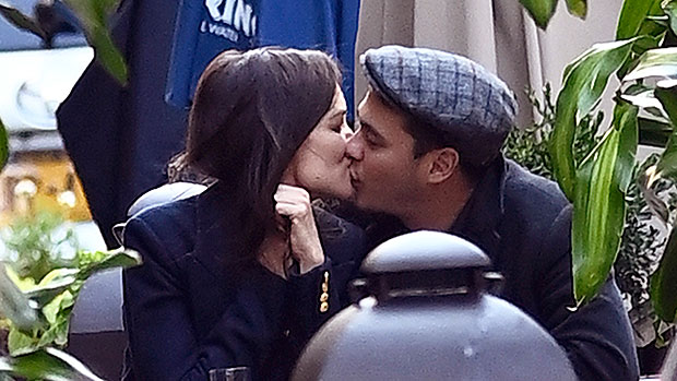 Katie Holmes, 41, Passionately Kisses New Boyfriend Emilio Vitolo Jr., 33, During Romantic Dinner Date In NYC – Pic