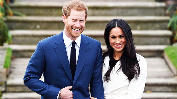 Prince Harry & Meghan Markle Show Off The Lush Backyard Of Their $14 Million Mansion During 'Time100'