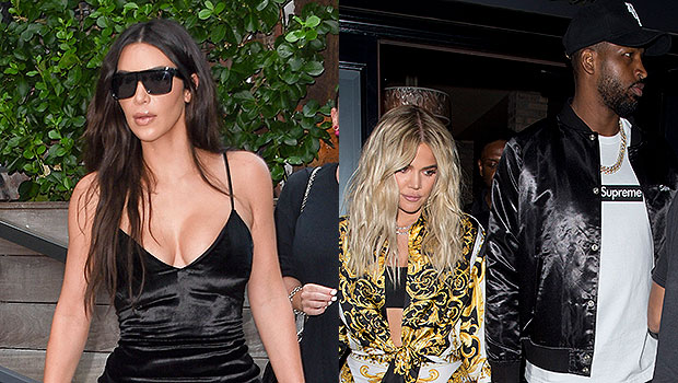 Kim Kardashian Reveals She's 'Third Wheeling' During Workout With Khloe & Tristan Amidst Reconciliation Rumors