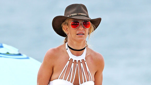 Britney Spears Stuns On The Beach In A Sexy Red Bikini — Plus More Of Her Hottest Pics