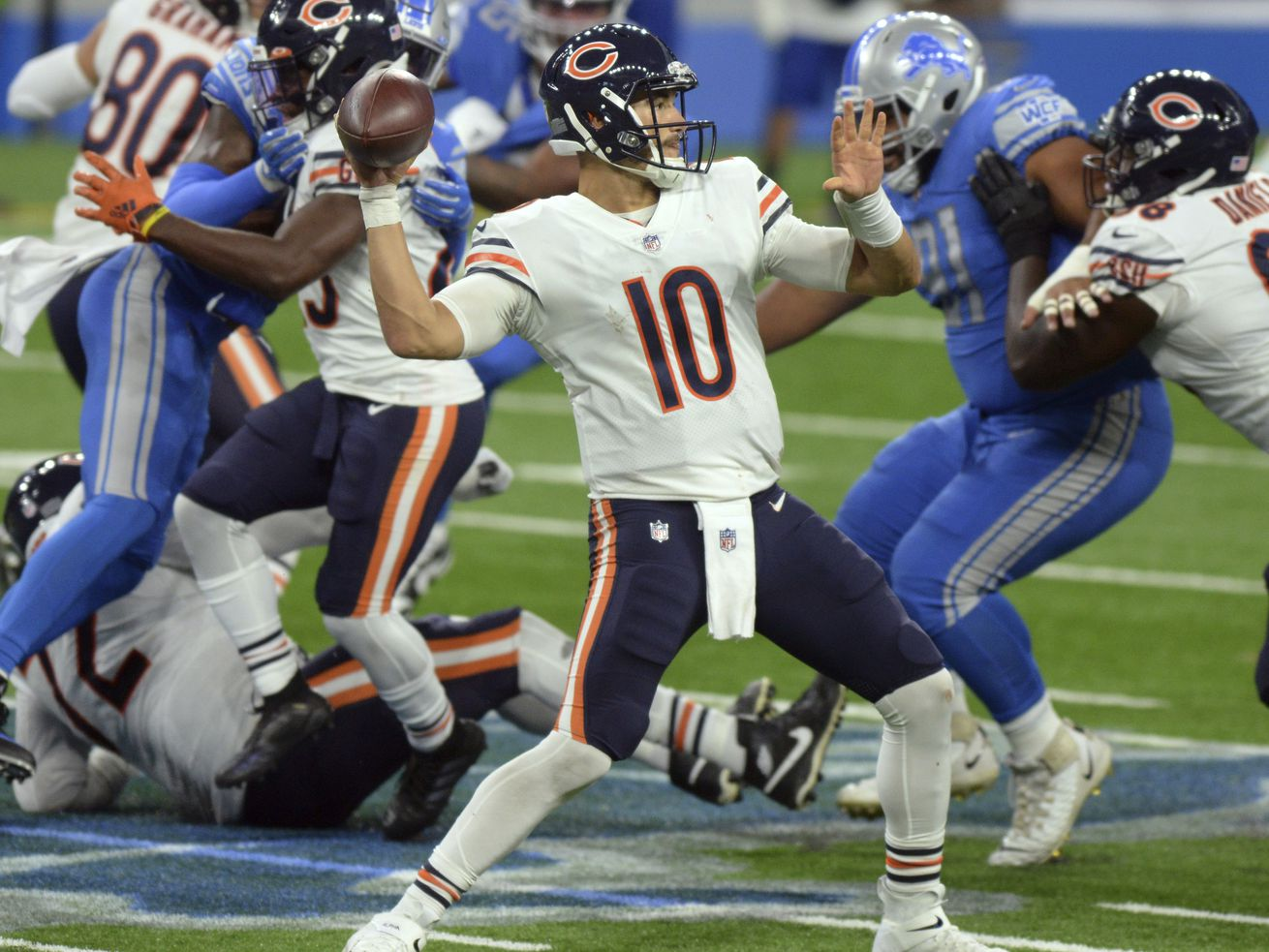 Bears QB Mitch Trubisky's accuracy: From 'Pro Bowl' hits to devastating misses