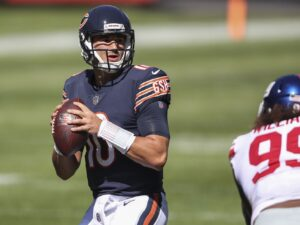 Bears QB Mitch Trubisky knows he has 'definitely not' been good enough so far