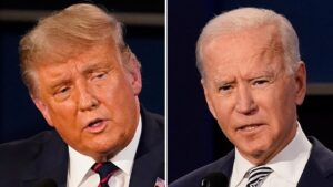 Biden accuses Trump of coronavirus lies as president pushes speedy vaccine timeline