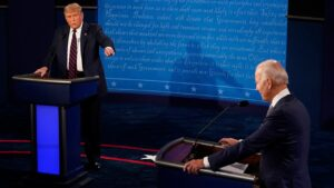 Presidential debate: Trump, Biden clash over Barrett Supreme Court nomination, ObamaCare as insults fly