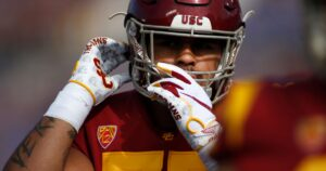 Alijah Vera-Tucker and Jay Tufele haven't said if they'll return for USC