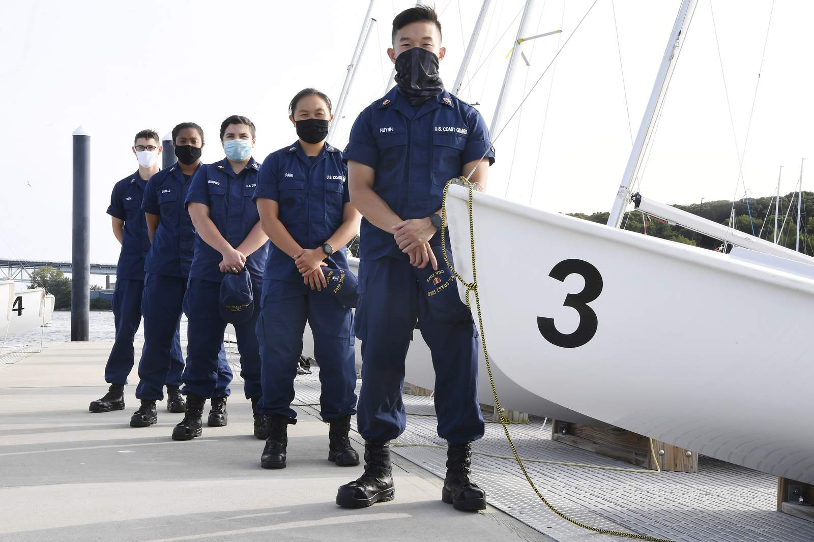 Pandemic spells opportunity for marooned Coast Guard cadets