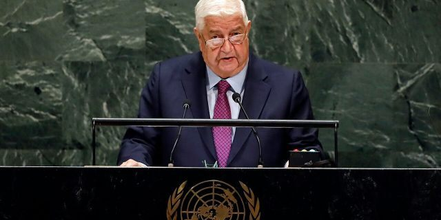 Syrian foreign minister says U.S. sanctions 'suffocate Syrians, just like George Floyd'