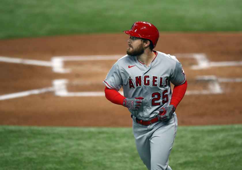 Do the Angels have a replacement for Albert Pujols in Jared Walsh?