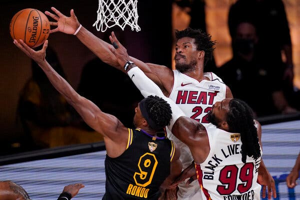 The Miami Heat Hold On to Beat the Lakers in Game 5