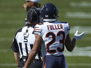 Source: NFL does not fine Bears CB Kyle Fuller for hit in Panthers game