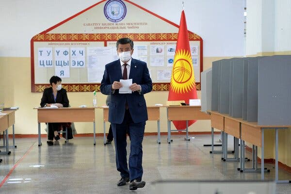 From Hiding, Kyrgyzstan's Leader Declares State of Emergency