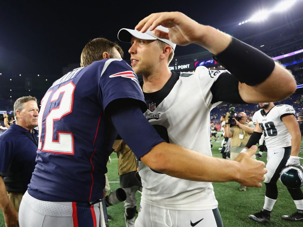 Tom Brady: No beef with Bears' Nick Foles, a 'hell of a player'