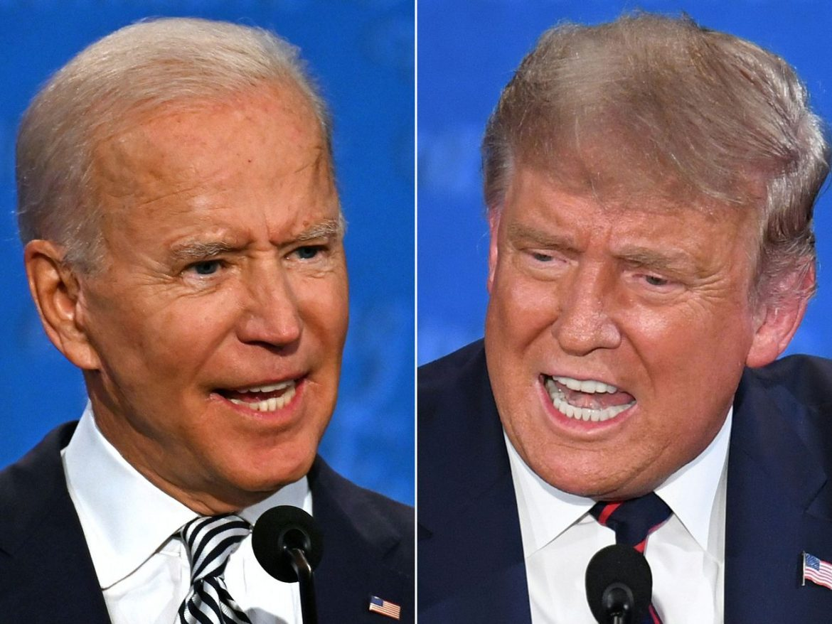 Watch live: Last presidential debate between Donald Trump and Joe Biden with live fact-checking