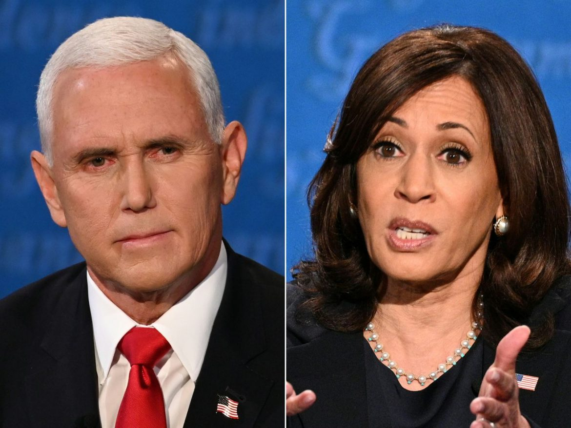 Fact check: Pence, Harris statements checked