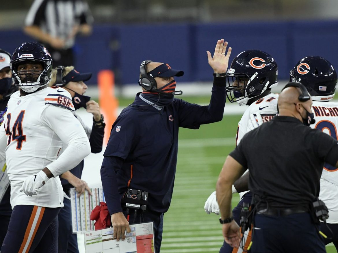 Film study: Why did Matt Nagy burn 2 timeouts — but hold onto 1?