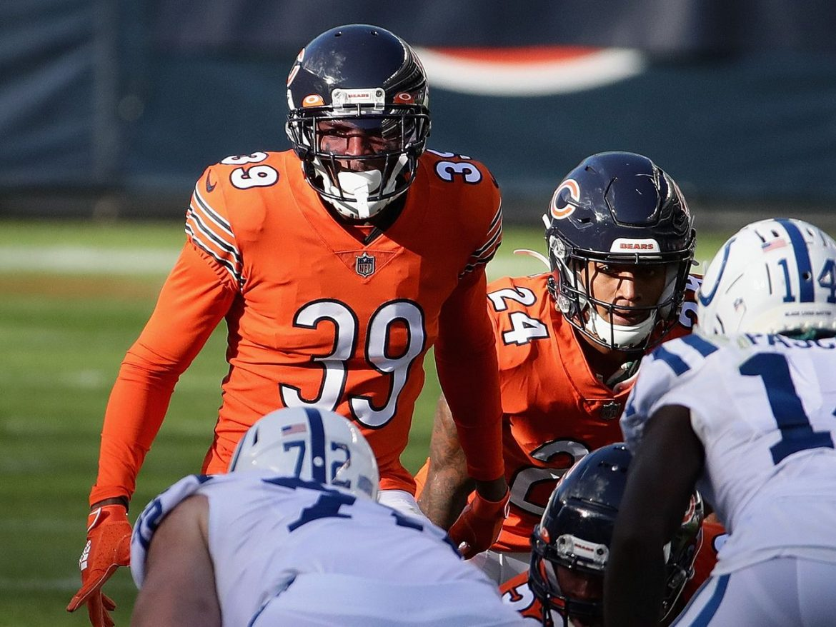 Bears' Eddie Jackson: Just try to throw the ball my way