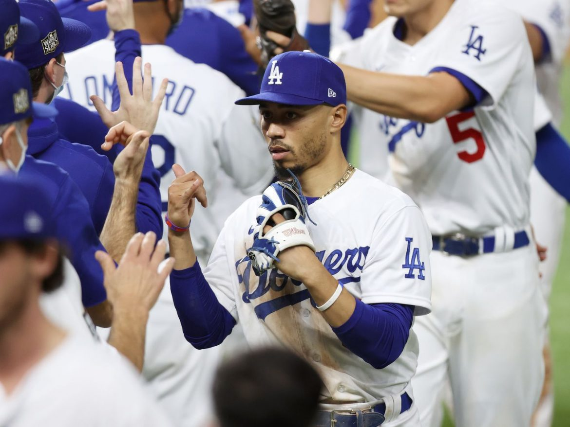 Kershaw, Bellinger, Betts lead way for Dodgers in Game 1