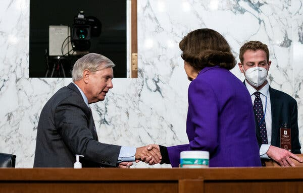 Graham's Star Turn as Confirmation M.C. Is Marred by Missteps