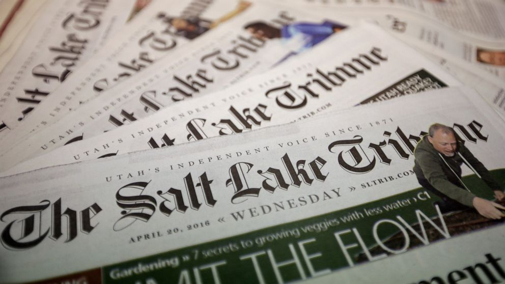 Salt Lake Tribune to stop printing daily after 149 years