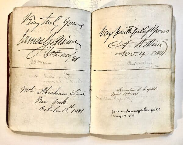 A Mysterious Autograph Hound's Book Is Up for Auction