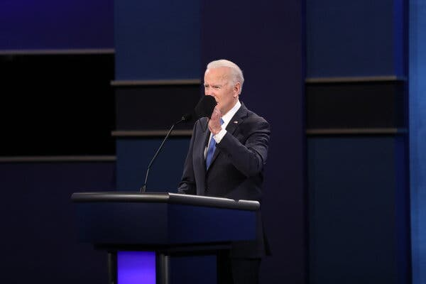 In Calmer Debate, Biden and Trump Differ Sharply on Virus, Immigration and Climate