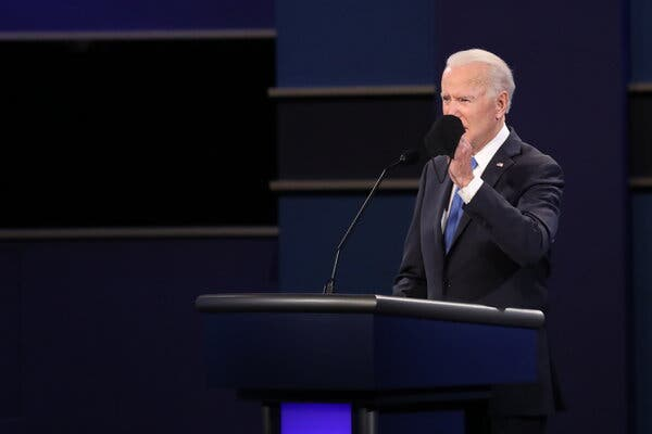 In Calmer Debate, Biden and Trump Offer Sharply Divergent Visions for Nation