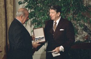 George Shultz Speaks Out for Renewing U.S. Leadership Overseas