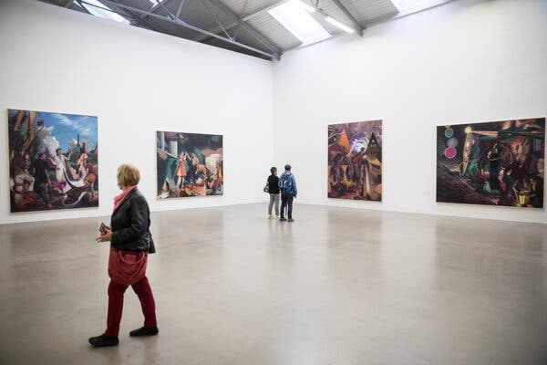 A German Painter's New Rule: 'Never Answer a Critic'