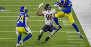 Rams' 24-10 victory over the Chicago Bears by the numbers