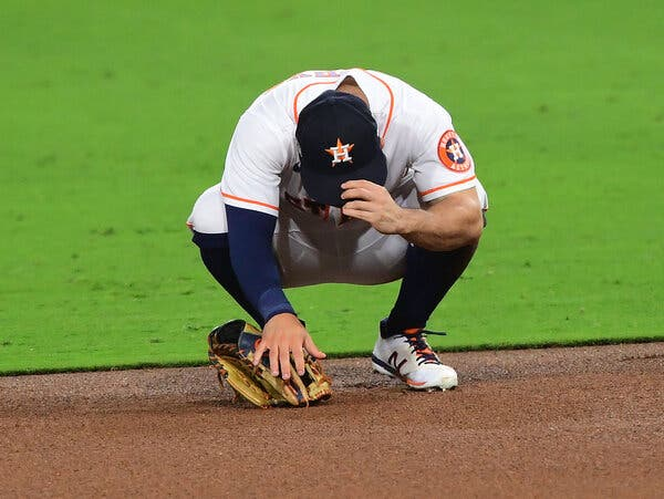 Jose Altuve, the Yips, and Some Sympathy for the Astros