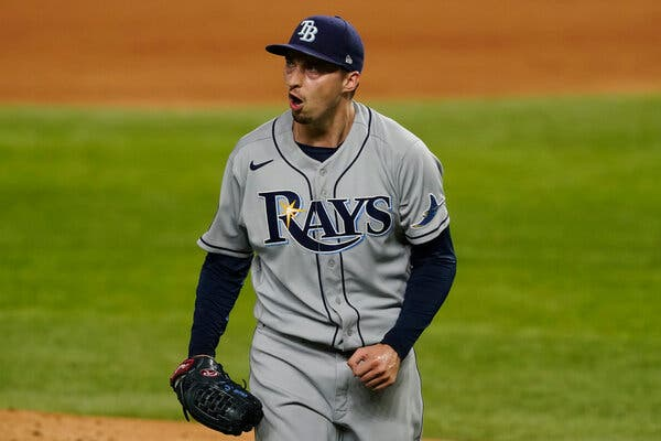 World Series: Rays Bounce Back With a Narrow Win Over the Dodgers