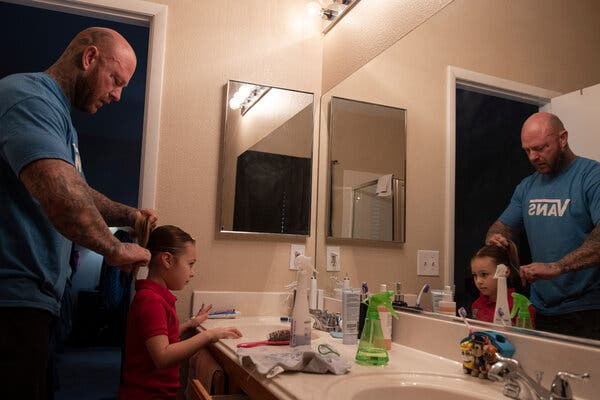 When Parents Lose Their Jobs, Their Children Also Suffer. But Sometimes There's a Consolation.