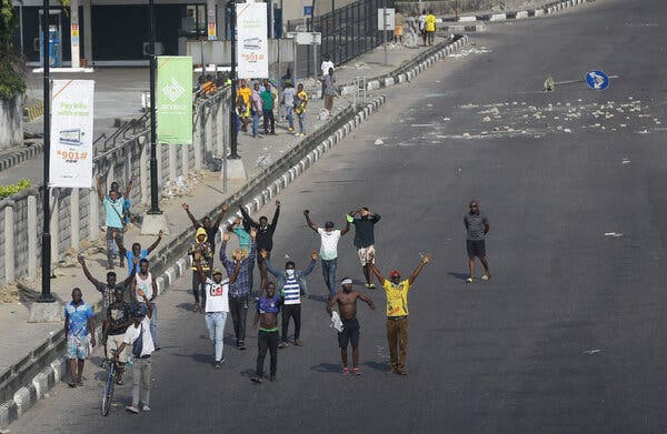 A Dozen Protesters in Nigeria Reported Killed by Security Forces