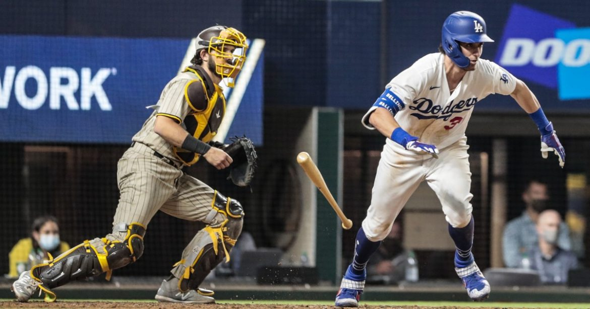 Cody Bellinger is key to Dodgers' win over Padres, even without crushing the ball