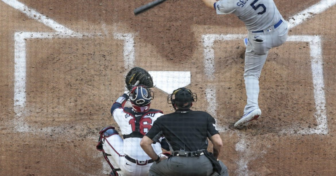 The Sports Report: Dodgers rout Braves and set some records in NLCS Game 3