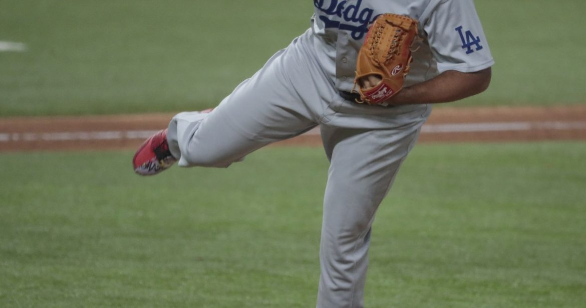 Former Dodgers closer Kenley Jansen relegated to mop-up role in rout of Braves