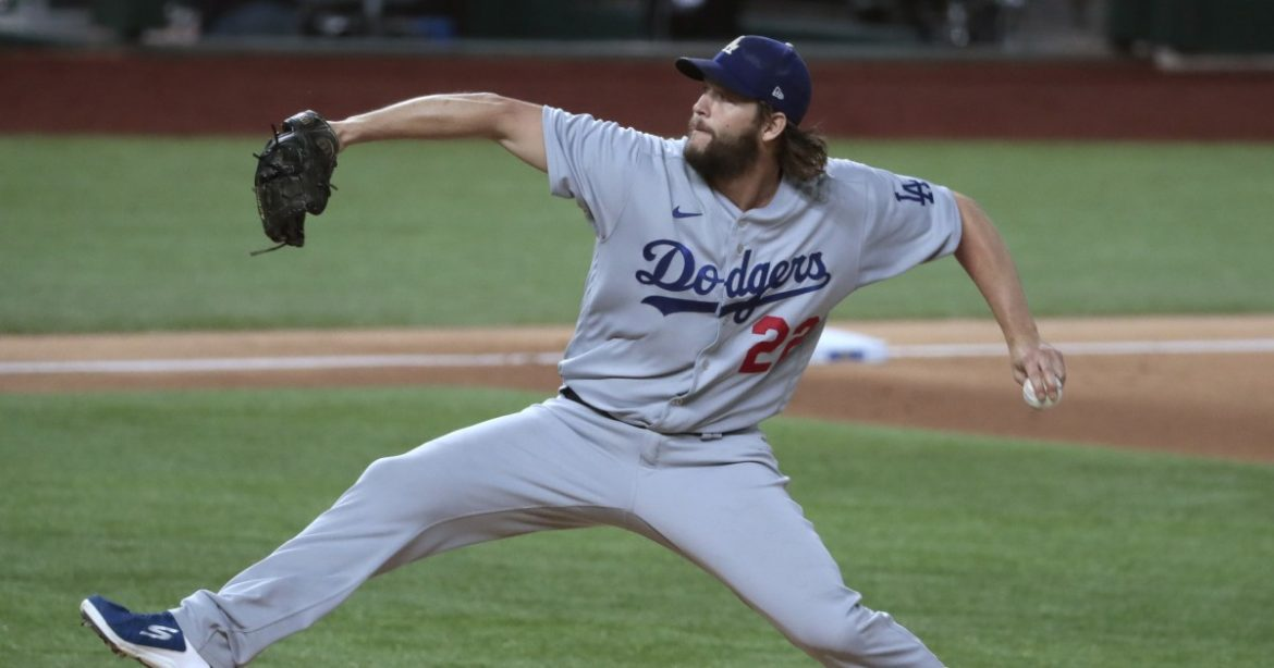 Dodgers' Clayton Kershaw will start Game 1 of World Series against the Rays
