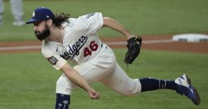 Tony Gonsolin to start for the Dodgers vs. Rays in Game 6 of World Series