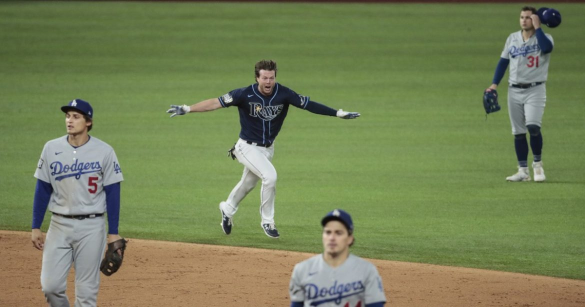 Column: An 'unrelenting belief' helped Brett Phillips become the Rays' hero in Game 4