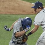 Ji-Man Choi can really play first base for the Rays