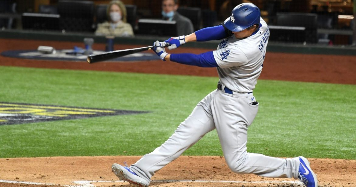 Corey Seager's four hits in Game 4 keeps his stellar postseason on a roll