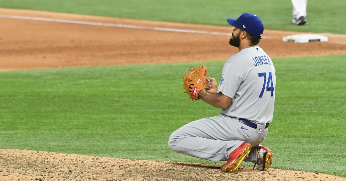 Dodgers' Kenley Jansen reverts to a question mark with Game 4 loss