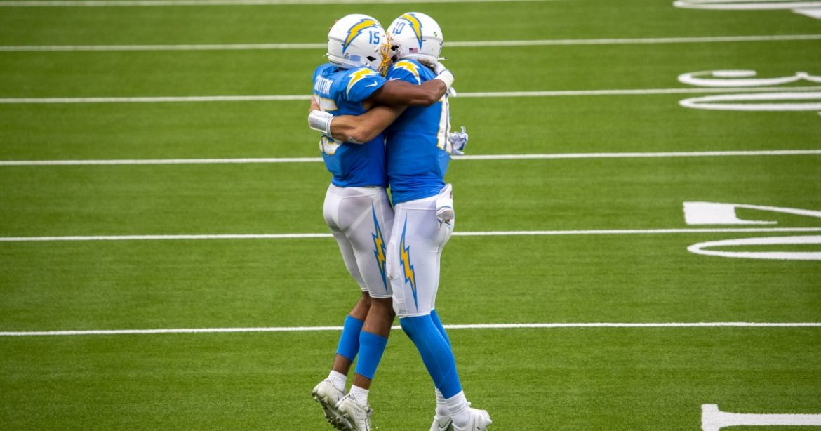 Chargers' Jalen Guyton is making every catch count