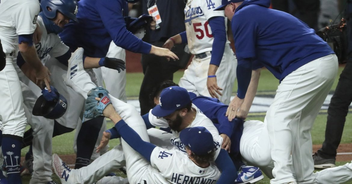 Dodgers assure fans a World Series celebration will happen when 'it is safe to do so'