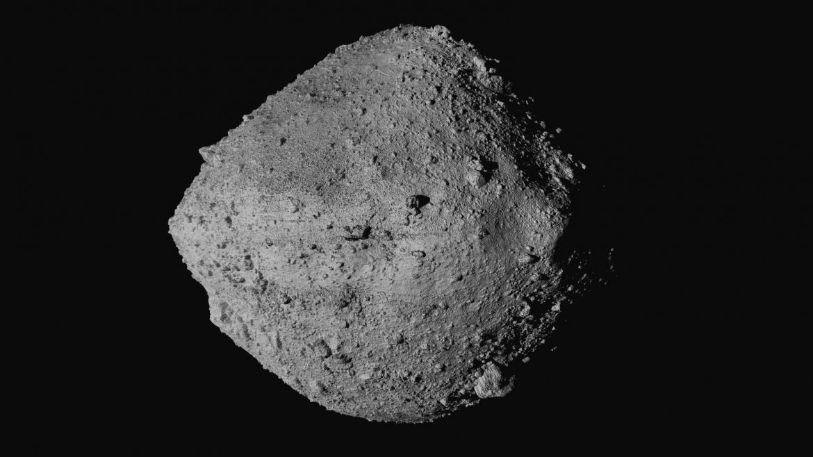 US spaceraft diving to asteroid surface for rare rubble grab