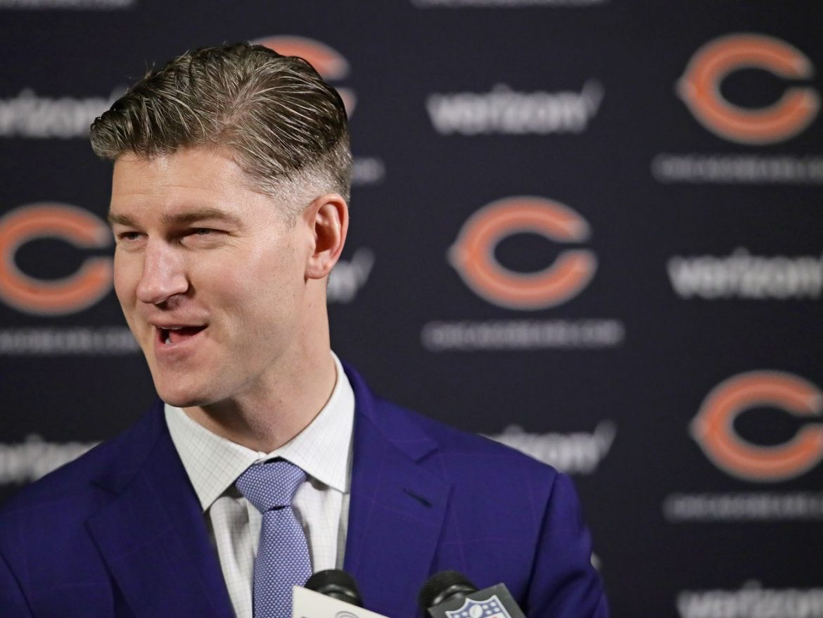 So many problems with the Bears' offense, but the biggest one is GM Ryan Pace