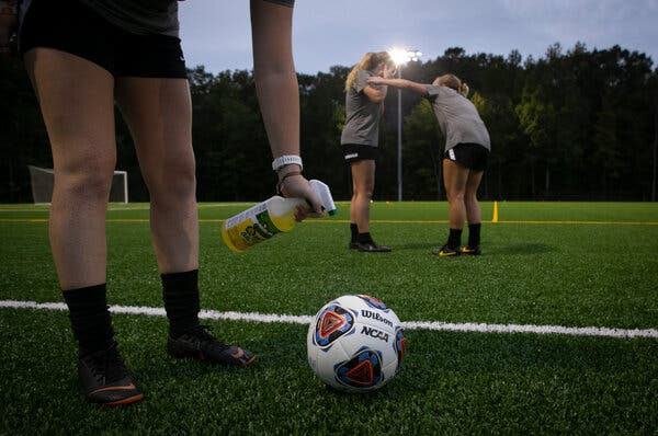 Out of the Spotlight, Colleges Try to Scrape Together a Sports Season